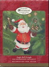 2000 Hallmark Keepsake Ornament Collector's Club ~ Jingle Bell Kringle