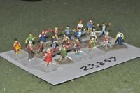 15mm scifi / human - zombies 20 figures - inf (23807)