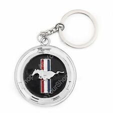 Running Horse Nameplate Metal Porte-clés Buckle Keychain Pour Ford Mustang GT