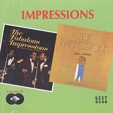 Fabulous Impressions/We're a Winner by The Impressions (CD, Sep-1998, Kent)