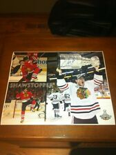 Andrew Shaw Chicago Blackhawks Stanley Cup Champion SIGNED AUTOGRAPHED 16x20