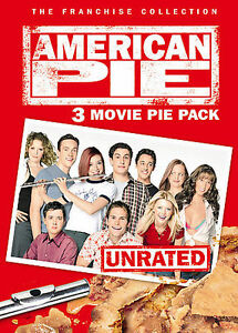 American Pie: 3 Movie Pie Pack (DVD, 2005, 3-Disc Set, Unrated/Widescreen)