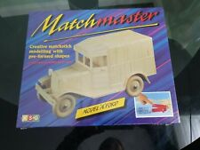 Rare Matchmaster 'A FORD' Matchstick Modelling Kit 1992 Vintage brand new sealed