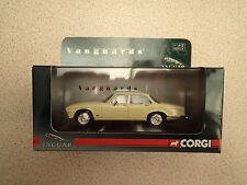 Ltd Edn Vanguards 1:43 VA08608 Jaguar XJ6 Series 1 Pale Primrose Ex Shop Stock