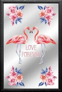Espejo Amor para Siempre Espejo de Pared, BAR, Salas de Fiesta, Pub, 30CM