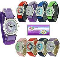 Relda Time Teacher Watch Easy Fasten Boy Girl Childrens xmas Gift For kids