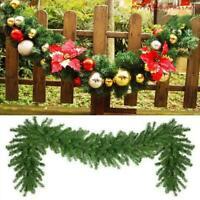 Xmas Artificial Pine Green Spruce Christmas Garland 2.7 28cm FA x UK meters I2R7