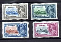 Mauritius KGV 1935 Silver Jubilee mint LHM #245-248 WS21424