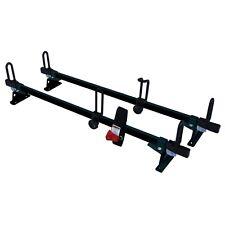 "60"" Steel ladder Roof Rack Van 2 bar racks M2000 BLACK Most Fits Makes & models"