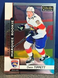 2017-18 O-Pee-Chee Platinum #190 Owen Tippett RC Panthers