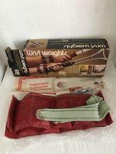 Vintage Dp Wrist Weights! Nrfp! Red' In Original Box!