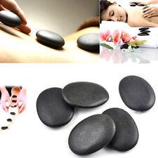 7pcs/set Hot Stone Massage Useful Basalt Rocks 3*4cm Size Black New ESUS