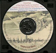 Field Family in America - Family Genealogy -