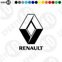 Renault Sticker Decal Vinyl Sports Classic Race F1 2220-0220