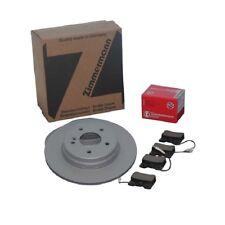Zimmermann DISCOS DE FRENO 288mm + Forros traseros AUDI A4 B7 + Avant Seat Exeo