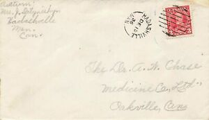 Hadashville Manitoba 1936 Split Ring On Canada Cover Pictorial Issue