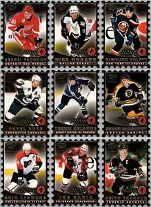 1998-99 PARAMOUNT SPECIAL DELIVERY INSERT CARDS - PICK SINGLES - FINISH SET Mint