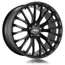 """18"""" x8 Advanti Racing Fastoso - 77B Black 5x100 35 ET 77B-FS88510355 Rims Wheels"""