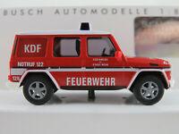 """Busch 51435 Mercedes-Benz G-Klasse (1990) """"Berufsfeuerwehr Wien"""" 1:87/H0 NEU/OVP"""