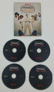 NETFLIX ORANGE IS THE NEW BLACK SEASON 4 COMPLETE 4 DVD SET FYC EMMY PROMO