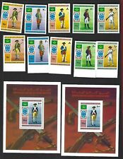 Mauritania sc#341-2,C160-3 (1976) Complete MNH Perf & Imperf
