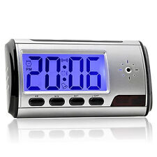 Secret Video DVR Digital Alarm Clock spy Nanny Camera Recorder Motion Detector U