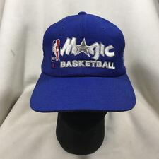 size 40 7b5aa af054 Vtg Orlando Magic NBA Champion Script Blue Snapback Hat NWOT
