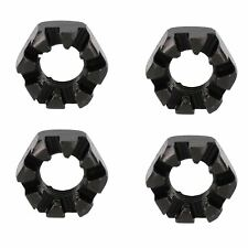 """3/4"""" BSF Slotted Castle Nut Trailer Wheel Hubs Castellated Hub Bearing 4 Pack"""