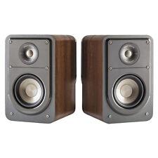 """Polk Audio S15 5-1/2"""" Brown Walnut Bookshelf Speakers (Pair)  BRAND NEW!!!!"""