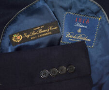 38S* Brooks Brothers 100% CASHMERE Loro Piana Navy Sport Coat Blazer Jacket