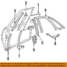 Buick GM OEM 91-96 Park Avenue-Outside Exterior Door Handle Right 25628822
