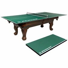 Dunlop 12mm 4 Piece Indoor Table Tennis Conversion Top, No Assembly Required,...
