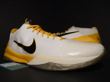 hot sale online 6dea9 11cf1 NIKE ZOOM KOBE V 5 PLAYER EXCLUSIVE PE PROMO SAMPLE LAKERS WHITE BLACK GOLD  17