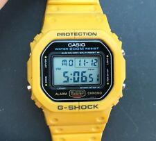 1987 Very Rare & VintageCASIO G-SHOCK DW-5600C-9BV (691) Yellow Speed Japan H