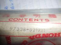 HONDA CB72 CB77 FRONT WHEEL CHROME PLATED BUTTED SPOKE SET 105.1 36pcs