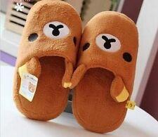 FD4307 San-X Rilakkuma Relax Bear Women Slipper Brown ~Cute Gift~ 1 Pair