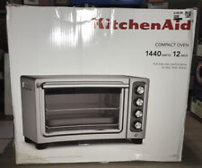 NEW KitchenAid - KCO253CU Convection Toaster Pizza Oven Contour silver
