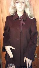 Fenn Wright Mason Spring Brown Wool Women's Jacket Size UK 10 .