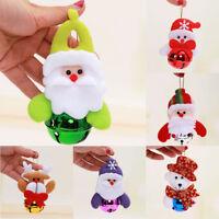 Weihnachten Weihnachtsbaum Dekor Glocke Ornament hängende Ball Xmas Santa Claus