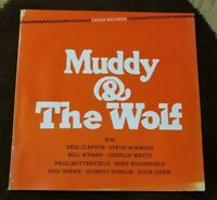 """Vintage 1984 Muddy Waters """"Muddy &the Wolf"""" LP - CHESS Records (CH-9100) EX"""