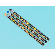 EMOJI LOL PENCILS (12) ~ Birthday Party Supplies Favors Stationery iPhone Black