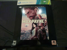 Max Payne 3 -- Special Edition 360 (open box, sealed game,no bullet)