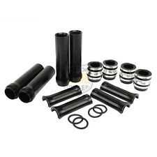 CNC Black Engine Pushrod Tube Cover Kit For Harley Twin Cam Dyna 1999-2017