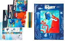2 X NEW BOOK & Disney Finding Dory Happy Tin 50 STICKERS PENS POSTER FREE POST
