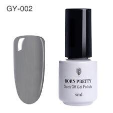 5ML Born Pretty UV Gel Nail Polish 7 Color Series Soak Off Purple Red Manicure