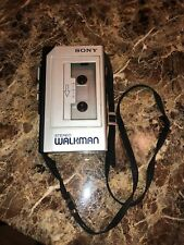 Vintage Sony Stereo Walkman Wm-1 Portable Cassette Player As Is