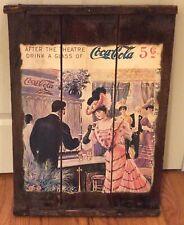 "Collectible Raisin Rack Coca Cola Vintage Advertising Piece 17""Wide  X 24""High"
