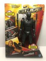 "G.I Joe Retaliation Ninja Commando Snake Eyes 11"" Action Figure Accessories"
