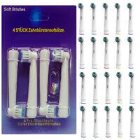 20 Aufsteckbürsten Aufsätze für Oral B Zahnbürsten Ersatzzahnbürsten