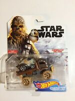 Hot Wheels~2018~Star Wars~ Chewbacca & Porg ~First Appearance~Character Cars~NM+